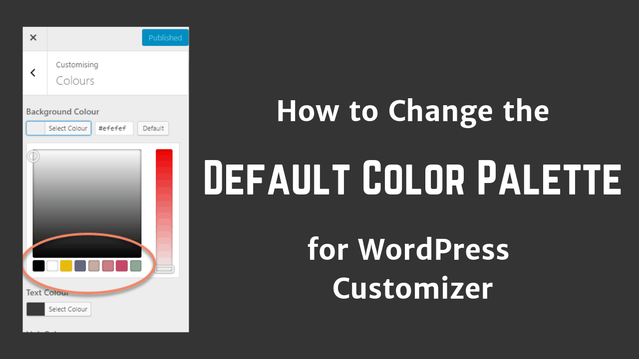 How To Change The Default Colors In WordPress Customizer Astra Generatepress