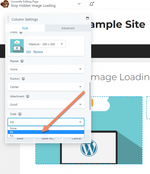 How To Stop A Hidden WordPress Image Loading On Mobile (Elementor