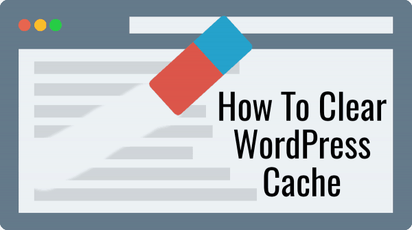 How to clear the WordPress Cache